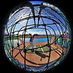 4 March 2011: The Washington Nationals take batting practice prior to Spring Training action against the Atlanta Braves at Space Coast Stadium in Viera, Florida. The Braves defeated the Nationals 6-4 in Grapefruit League action. Mandatory Credit: Ed Wolfstein Photo