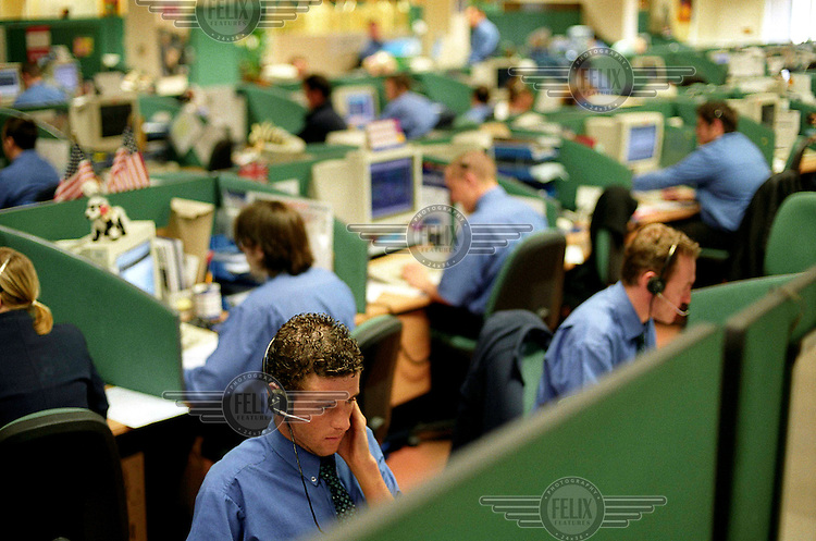 The call centre of Gold Medal Travel caters for over 500,000 customers each year, and employs over 600 staff.