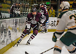 18 December 2016: Union College Dutchman Forward Brett Supinski, a Sophomore from Collegeville, PA, in second period action against the University of Vermont Catamounts at Gutterson Fieldhouse in Burlington, Vermont. The Dutchmen defeated their former ECAC hockey rivals 2-1, sweeping their two-game weekend series. Mandatory Credit: Ed Wolfstein Photo *** RAW (NEF) Image File Available ***