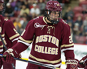 Ron Greco (BC - 28) - The Harvard University Crimson defeated the visiting Boston College Eagles 5-2 on Friday, November 18, 2016, at Bright-Landry Hockey Center in Boston, Massachusetts.{headline] - The Harvard University Crimson defeated the visiting Boston College Eagles 5-2 on Friday, November 18, 2016, at Bright-Landry Hockey Center in Boston, Massachusetts.