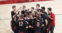 Stanford Volleyball M vs California Baptist, January 27, 2017