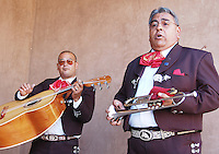 Mariachi is the most popular and distinct folklore music of the country of Mexico. Both in Mexico and the United States, Mariachi Music is widely admired. The name mariachi refers to the music itself, but also refers to the musicians or mariachis that played it. Mariachi Music is deeply embedded in Mexican and Mexican-American cultures. The popularity of Mariachi music began to increase during the first half of the 20th century. The Mexican film industry boosted Mariachi music in new heights and as classic movies of the Golden Era internationalized that featured this peculiar type of music, Mariachi Music's popularity gained fame in the United States and many other countries around the world. Mariachi music uses the following instruments: vihuela, violin, guitar, guitarron, trumpet and others unique instruments. Mariachi music is an essential part of Mexican life, and just as tequila --a famous distilled beverage made from the blue agave plant-- Mariachi Music has become an internationally-known aspect of Mexico, and its distinctive sound has become an emblematic symbol of Mexican culture. Photo by Eduardo Barraza © 2012