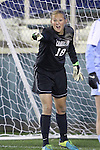 08 November 2013: North Carolina's Anna Sieloff. The Florida State University Seminoles played the University of North Carolina Tar Heels at WakeMed Stadium in Cary, North Carolina in a 2013 NCAA Division I Women's Soccer match and the semifinals of the Atlantic Coast Conference tournament. Florida State won the game 2-1 in overtime.