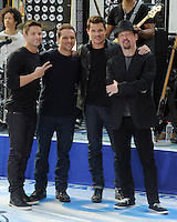 98 Degrees reunites for Today Show concert - New York