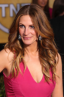 LOS ANGELES, CA - JANUARY 18: Julia Roberts at the 20th Annual Screen Actors Guild Awards held at The Shrine Auditorium on January 18, 2014 in Los Angeles, California. (Photo by Xavier Collin/Celebrity Monitor)
