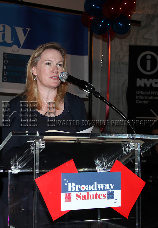 Kathleen Marshall.attending the Broadway League and Coalition of Broadway Unions and Guilds Presentation of The 3rd Annual Broadway Salutes in New York City.