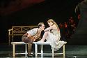 "London, UK. 04.12.2015. Matthew Bourne's ""Sleeping Beauty"" opens at Sadler's Wells. Picture shows: Chris Trenfield (Leo), Cordelia Braithwaite (Aurora). Photograph © Jane Hobson."