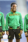 16 October 2014: Donna-Kay Henry (JAM). The Jamaica Women's National Team played the Martinique Women's National Team at Sporting Park in Kansas City, Kansas in a 2014 CONCACAF Women's Championship Group B game, which serves as a qualifying tournament for the 2015 FIFA Women's World Cup in Canada. Jamaica won the game 6-0.