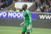 VOETBAL: LEEUWARDEN: 16-08-2015, SC Cambuur - Feyenoord, uitslag 0-2, Keeper Kenneth Vermeer (#1), ©foto Martin de Jong