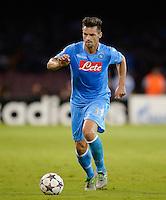 FUSSBALL   CHAMPIONS LEAGUE   SAISON 2013/2014   Vorrunde SSC Neapel - Borussia Dortmund      18.09.2013 Christian Maggio (SSC Neapel) am Ball