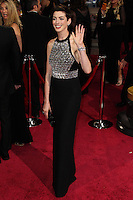 HOLLYWOOD, LOS ANGELES, CA, USA - MARCH 02: Anne Hathaway at the 86th Annual Academy Awards held at Dolby Theatre on March 2, 2014 in Hollywood, Los Angeles, California, United States. (Photo by Xavier Collin/Celebrity Monitor)