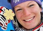 Ski Alpin, FIS Ski WM in Val d'Isere, Maria Riesch gewinnt Gold im Slalom