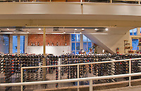 Georgetown, Washington, D.C. Store Wine selection rack