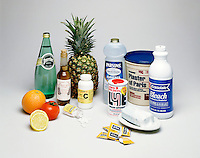 ACIDS - BASES: COMMON HOUSEHOLD PRODUCTS<br />
