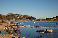 """Lake Aloha 1"" - Photograph taken in the late afternoon of Lake Aloha in the Tahoe Desolation Wilderness."
