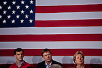 "Attendees of a ""Roundtable On Entrepreneurship"" listen to Republican vice presidential candidate Rep. Paul Ryan at University of South Florida in Tampa, Florida, October 19, 2012."