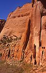 Betatakin c;iff dwellings in Navajo National Monument Arizona