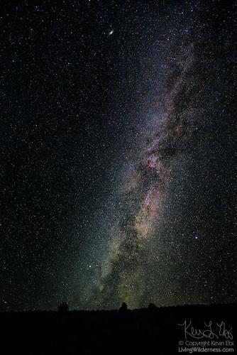 Milky Way Over Mormon Basin, Oregon