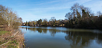 BNPS.co.uk (01202 558833)<br /> Pic: PhilYeomans/BNPS<br /> <br /> Iffley Mill is is sadly no longer standing today.<br /> <br /> 'Old man river, he just keeps rollin' - A remarkable collection of panoramic photographs of the Thames taken 160 years ago have emerged for auction, and they reveal how little the famous old river has changed in the last century and a half.<br /> <br /> They follow the river from London to Oxford in 40 photographs providing a fascinating insight into how the famous river looked in the mid-19th century.<br /> <br /> Londoner Victor Prout started photographing the Thames in 1857 using a camera which would produce wide-vision images because of a lens that swung round and 'scanned' sections of the picture.<br /> <br /> This rare complete copy of the first edition of Prout's pioneering panoramics has emerged for auction and is tipped to sell for &pound;12,000 when they go under the hammer at Bonhams on March 1.