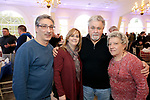 Southington, CT- 24 March 2017-030717CM13- From left, Al and Tina Mauriello of Thomaston and Robert and Margaret Calabrese of Waterbury are photographed during the 25th annual Nutmeg Friends of the NRA dinner at the Aqua Turf in Southington on Friday.     Christopher Massa Republican-American