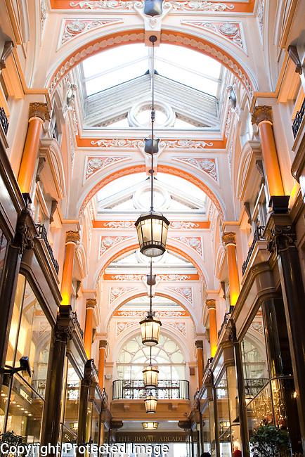 Royal Opera Shopping Arcade, London