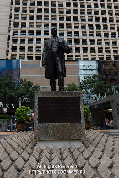 Sir Thomas Jackson Statue in Hong Kong