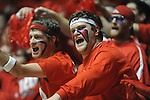 "Fans cheer at Ole Miss vs. Arkansas at the C.M. ""Tad"" Smith Coliseum in Oxford, Miss. on Saturday, January 19, 2013. Mississippi won 76-64. (AP Photo/Oxford Eagle, Bruce Newman)"