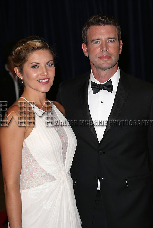 Marika Dominczyk and Scott Foley attend the 100th Annual White House Correspondents' Association Dinner at the Washington Hilton on May 3, 2014 in Washington, D.C.