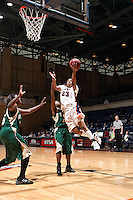 SAN ANTONIO, TX - FEBRUARY 7, 2009: The Southeastern Louisiana State University Lions vs. The University of Texas at San Antonio Roadrunners Women's Basketball at the UTSA Convocation Center. (Photo by Jeff Huehn)