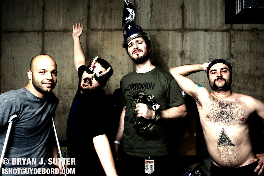 I did a quick shoot with Miami-based stoner metal dudes Torche after their set at The Firebird in Saint Louis, MO on June 18th, 2012. Rad dudes, or the raddest?