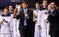 INDIANAPOLIS, IN - JANUARY 26: Head coach Brad Stevens of the Butler Bulldogs is seen during the game against the Temple Owls at Hinkle Fieldhouse on January 26, 2013 in Indianapolis, Indiana. (Photo by Michael Hickey/Getty Images) *** Local Caption *** Brad Stevens