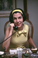 Geraldine Stutz, President of Henri Bendel, New York City, 1963.