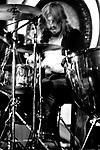 Led Zeppelin 1971 John Bonham.© Chris Walter.