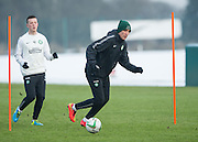 22.01.2015 Celtic training