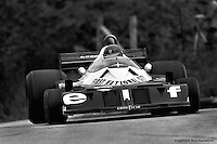 BOWMANVILLE, ONT: Ronnie Peterson drives the Tyrrell P34 6/Ford Cosworth DFV during the Canadian Grand Prix on October 9, 1977, at Mosport Park near Bowmanville, Ontario.
