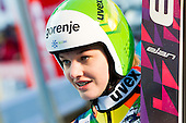 JAVORSEK Anja of Slovenia during 11th Women FIS Ski Jumping World Cup competition in Planica replacing Ljubno  on January 25, 2014 at HS95, Planica, Slovenia. Photo by Vid Ponikvar / Sportida