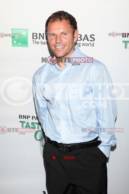 Tennis player Michael Russell attends the 13th Annual 'BNP Paribas Taste of Tennis' at the W New York.  New York City, August 23, 2012. &copy;&nbsp;Diego Corredor/MediaPunch Inc. /NortePhoto.com<br />