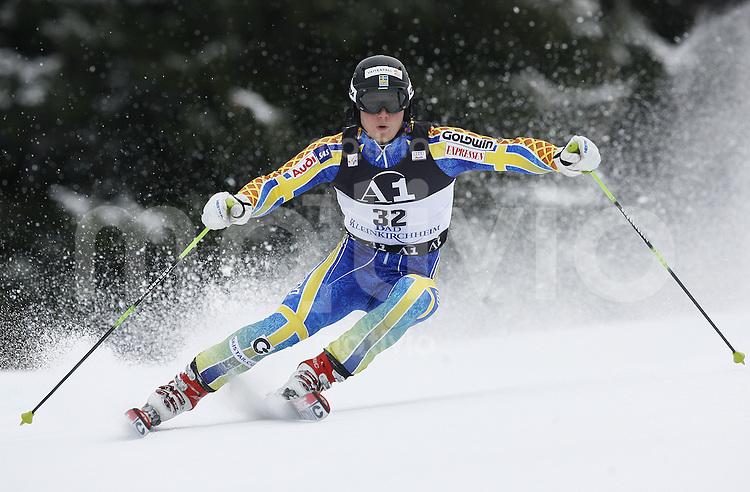 Ski Alpin Weltcup Riesenslalom in Bad Kleinkirchheim , AUT 08.12.07  Jens Byggmark (SWE)