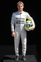 MERCEDES AMG GERMAN DRIVER,NICO ROSBERG. .Melbourne 16/03/2013 .Formula 1 Gp Australia.Foto Insidefoto.ITALY ONLY .Posato Ritratto Pilota