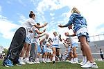 01 May 2016: North Carolina's Sammy Jo Tracy (13). The University of North Carolina Tar Heels played the Syracuse University Orange at Lane Stadium in Blacksburg, Virginia in the 2016 Atlantic Coast Conference Women's Lacrosse Tournament championship match. North Carolina won 15-14 in overtime.