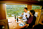 Norway: Train, high speed Signatur train, model released.  Photo: eurail101.Photo copyright Lee Foster, 510/549-2202, lee@fostertravel.com, www.fostertravel.com