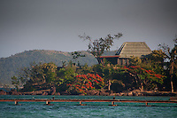 Bure at Vonu Point, Turtle Island, Yasawa Islands, Fiji