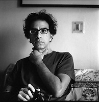 Asim Rafiqui, photographer, 2011 in Delhi, India. Photo by Suzanne Lee