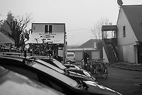 Pictures by Russell Ellis/SWpix.com - 10/04/2016 - Cycling - Paris-Roubaix - France - Paris-Roubaix 2016 -  The mechanics of Team Giant–Alpecin