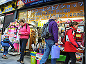 January 25, 2012, Tokyo, Japan - Foreign tourists are seen in Akihabara, the world-renown wholesale district of electric and electronics appliances, on Wednesday, January 25, 2012. Tourism has picked up in the latter half of 2011 despite the dramatic drop Japan saw after the unprecedented natural disasters and nuclear power plant accident., according to the Japan National Tourism Organization. The total visitor numbers to Japan for the year 2011 ending December were 6,219,300, a 27.8% decrease from 2010s figures of 8,611,175. (Photo by Natsuki Sakai/AFLO) AYF -mis-