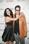 Stacy Kessler and JAE BENJAMIN  Attend Maxim Magazine's Annual Maxim Party at the Greenwich Village Country Club, NY   2/4/12