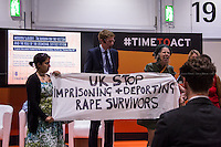 12.06.2014 - Women Against Rape Protest at the #TimeToAct Global Summit