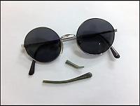 John Lennon glasses.
