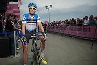 Giro d'Italia stage 13.Savano-Cervere: 121km..Jack Bauer before the race