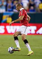 Gabriel Obertan. Manchester United defeated Philadelphia Union, 1-0.
